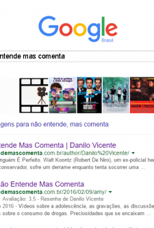 Estamos bem no Google!