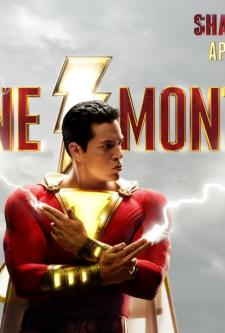 Shazam chega em 1 mês: confira nova imagem